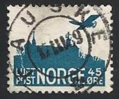 Norwegen, 1937, Mi.-Nr. 136 A, Gestempelt - Used Stamps