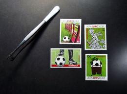Österreich - Austriche - Austria - 2008 - 2709/23/27/34 - Postfrisch - MNH - Fußball-Europameisterschaft, UEFA EURO 2008 - 2001-10 Unused Stamps