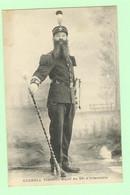 K878 - MILITARIA - Personnage - CAGNOLI - Tambour Major Du 99 ème D'Infanterie - Characters