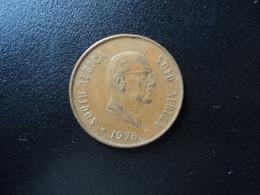 AFRQUE DU SUD * : 2 CENTS   1976    KM 92      TTB+  ** - South Africa