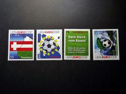 Österreich - Austriche - Austria - 2008 - 2714/24/26/33 - Postfrisch - MNH - Fußball-Europameisterschaft, UEFA EURO 2008 - 2001-10 Unused Stamps