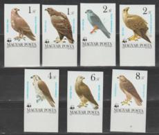 HUNGRIA   1983   **   MNH  YVERT    2864/70   W.W.F   SINDENTAR - Unused Stamps