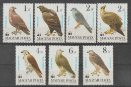 HUNGRIA   1983   **   MNH  YVERT    2864/70   W.W.F - Unused Stamps