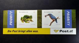 Österreich - Austriche - Austria - 2008 - 2716/17 - Postfrisch - MNH - Tierschutz - Laubfrosch, Eisvogel. Selbstkl. - 2001-10 Unused Stamps