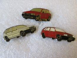 PIN'S    LOT  3  FIAT   TIPO - Fiat