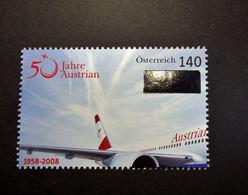 Österreich - Austriche - Austria - 2008 - 2718 - Postfrisch - MNH -  50 Jahre Austrian Airlines - 2001-10 Unused Stamps