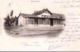 GERARDMER  -  La Gare  -  Carte Au Dos Non Divisé - Gerardmer