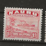 Nauru, 1924, SG  28A, Mint Hinged - Nauru