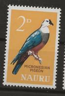 Nauru, 1963, SG  57, Mint Hinged - Nauru