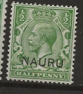 Nauru, 1916, SG   1, Mint Hinged - Nauru