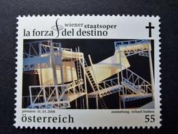 Österreich - Austriche - Austria - 2008 - 2719 - Postfrisch - MNH -   Wiener Staatsoper - La Forza Del Destino - 2001-10 Unused Stamps