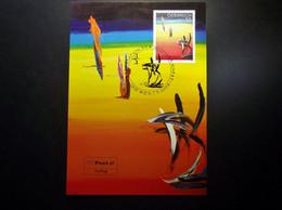 Österreich - Austriche - Austria - 2008 - 2721 - Postfrisch - MNH -   Moderne Kunst - Soshana - Maximum Cards