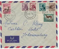 Afrique Du Sud // South Afrika // Lettre Pour Johannesburg 14.02.1961 - Briefe U. Dokumente