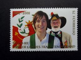 Österreich - Austriche - Austria - 2008 - 2728 - Postfrisch - MNH - 100 Jahre Tiroler Landestrachten-Verband - 2001-10 Nuevos & Fijasellos