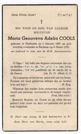 Maria Genoveva Adelia Cools Mechelen 1887 - Berchem 1953 - Images Religieuses