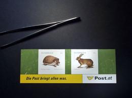 Österreich - Austriche - Austria - 2008 - 2729/30 - Postfrisch - MNH -  Tierschutz - Weißbrustigel  &  Feldhase - 2001-10 Unused Stamps