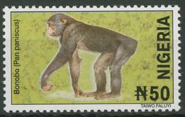 Nigeria 2001 (2005) Tiere Zwergschimpanse 737 D Postfrisch - Nigeria (1961-...)