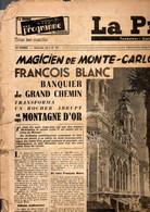 Destockage Lot De 14 N:  Des  Journaux -  Magazine La Presse -  Voir Exemple N: 85 Du  Mardi 1 Juillet 1947 à 1951 - Other