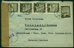 ÖSTERREICH 1945 Nr 747 BRIEF MEF X2A1CDE - 1945-60 Brieven