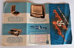 RADIOLA  Dépliant Publicitaire Téléviseurs Et Postes De Radio - Apparatus