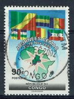 Congo (Brazzaville), 90f, CEMAC, 1999, Obl, TB - Oblitérés