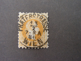 Stempel Praterstrasse 1886 - Usados