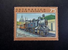 Österreich - Austriche - Austria - 2008 - 2756 - Postfrisch - MNH -  K.K. STB Reihe 30, 110 Jahre Wiener Stadtbahn - 2001-10 Nuevos & Fijasellos