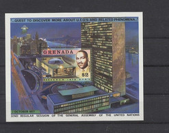 Grenada 1978 MiNr. Block 75 - UFO - Forschung - Postfrisch - MNH - ** - Grenada (1974-...)