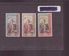 Laos, 1963, N° 90 / 92 * - Laos