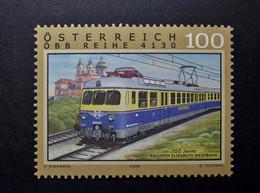 Österreich - Austriche - Austria - 2008 - 2762 - Postfrisch - MNH -   ÖBB Reihe 4130, 150 Jahre Kaiserin Elisabeth Westb - 2001-10 Nuevos & Fijasellos