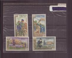 Laos, 1963, N° 86 / 89 * - Laos