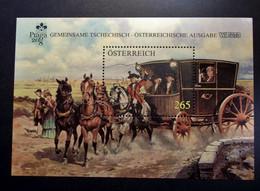 Österreich - Austriche - Austria - 2008 - 2763 - Postfrisch - MNH -  BL 45 Briefmarkenausstellung WIPA 2008 Und PRAGA 08 - 2001-10 Nuevos & Fijasellos