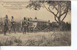 1185PR/ CP-PK Belgisch Congo Belge Surcharge E.A.A.O.B./ D.O.A.B.B.  15 C Vue 48 MINT - Enteros Postales