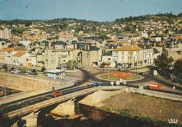 Brive - Le Rond-point Et Le Pont Cardinal - Brive La Gaillarde