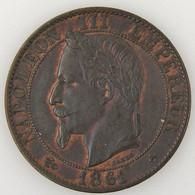 France, Napoleon III, 5 Centimes 1861 BB, TTB/TTB, KM# 797.2 - C. 5 Centimes