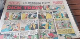 THE PHILADELPHIA INQUIRER 1948 /DICK TRACY /BLONDIE/GREATEST COMICS - Other Publishers