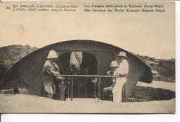 1186PR/ CP-PK Belgisch Congo Belge Surcharge E.A.A.O.B./ D.O.A.B.B.  15 C Vue 22 MINT - Enteros Postales
