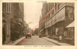 63.  RIOM .  Rue Saint Amable . - Riom