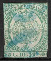 1889 CUBA Timbre Movil Used Stamp - Cuba (1874-1898)