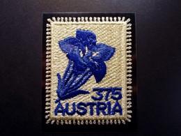 Österreich - Austriche - Austria - 2008 - 2773 - Postfrisch - MNH -    Ausgabe Vorarlberger, Stickereimarke, Gentian - 2001-10 Nuevos & Fijasellos