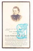 DP Foto - Elodie Victorine De Vooght ° Brugge 1870 † 1926 / Wijngaardplaats - Images Religieuses