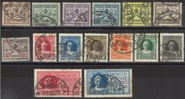 VATICANO 1929 - Conciliazione - 15 Val. Usati  (1082) - Gebraucht