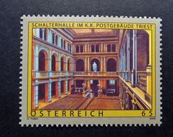 Österreich - Austriche - Austria - 2008 - 2782  - Postfrisch - MNH -   Schalterhalle Im K.K. Postgebäude Triest - 2001-10 Nuevos & Fijasellos