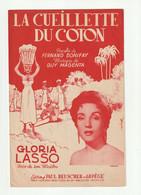 GLORIA LASSO Partition LA CUEILLETTE DU COTON De GUY MAGENTA E.A. 752 - Scores & Partitions