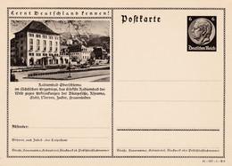Carte Entier Postal Ganzsache Postkarte - Stamped Stationery