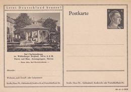 Carte Entier Postal Ganzsache Postkarte Bad Charlottenbrunn - Stamped Stationery