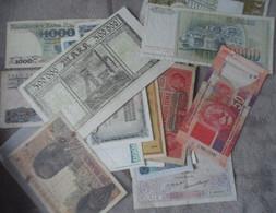 32 Billets Monde Circulés - Lots & Kiloware - Banknotes