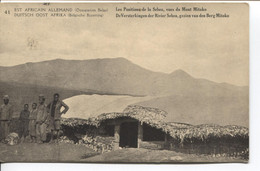 1189PR/ CP-PK Belgisch Congo Belge Surcharge E.A.A.O.B.- D.O.A.B.B.  Vue 41  MINT - Enteros Postales