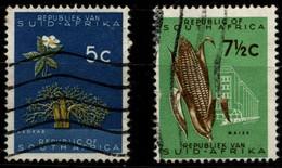 RSA 1961-62 Mi 293, 305 Baobab, Maize - Gebraucht