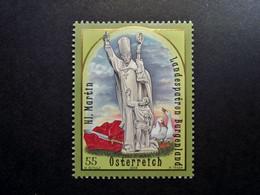 Österreich - Austriche - Austria - 2008 - 2784  - Postfrisch - MNH -  Landespatrone Burgenland, St. Martin - 2001-10 Nuevos & Fijasellos